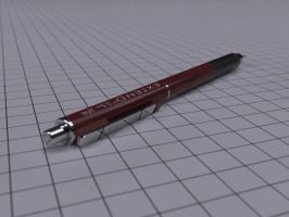 Mechanical Pencil with HDRI by BarberofCivil