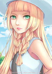 Lillie by Akashicchan