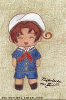 Chibitalia In A Cute Sailor Outfit by lekrissy