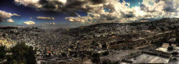 Panoramic Jerusalem by Timothy-Sim