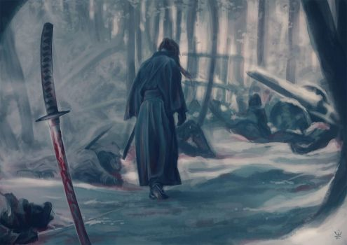 Rurouni Kenshin: The Journey Of Atonement Begins by Kirana