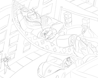 TFBAY: Lounging Over the City by DrGaster