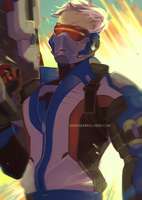 Soldier: 76 by Munrou
