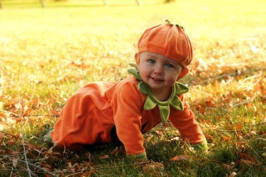 Pumpkin Baby by Anachronist84