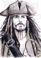 Johnny Depp Jack Sparrow PSC by whu-wei