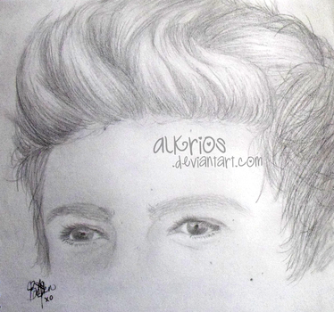 A Sketch a Day - Nialler Hair by Brit-Jack