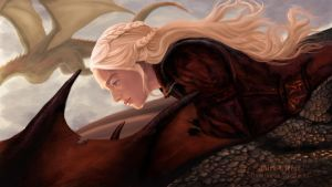 Mother of Dragons by WaterSorcerer
