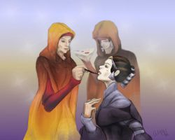 To Serve The Queen Amidala by AM-Nyeht