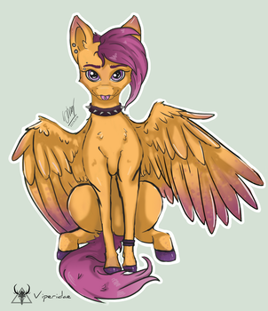 Scootaloo by ViperidaeGraphics