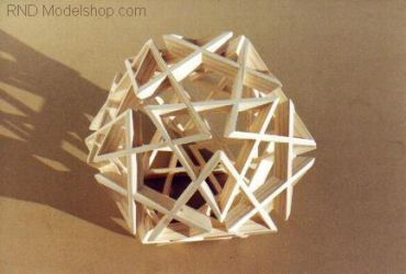 Dodecahedron with Triangles by RNDmodels