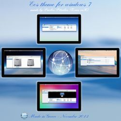 Eos (E operating system) (32bit) for windows 7 by ZEUSosX