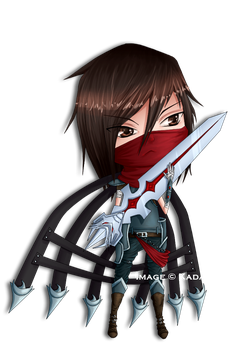 Chibi LoL: Dragonblade Talon by Jenova87