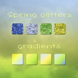 SpringGLittersAndGradients MrsL by MrsLavender