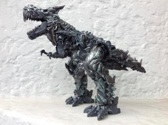 Studio Series Grimlock In Dino Mode by tonycreatah
