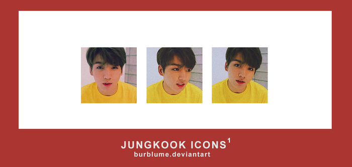 JUNGKOOK ICONS #1 - BURBLUME by BurBlume
