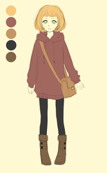 Nell irl Outfit Ref by Riizu-chii