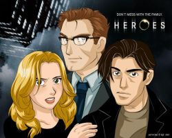 A Dysfunctional Heroic Family by Eji