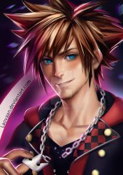 Sora Kingdom Hearts 3 by Laovaan