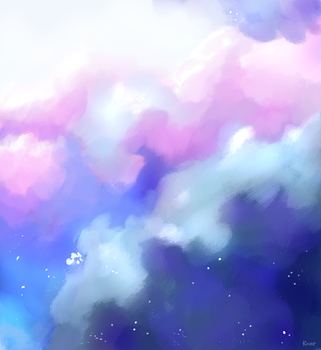 Cotton Clouds by Katze-Doshi