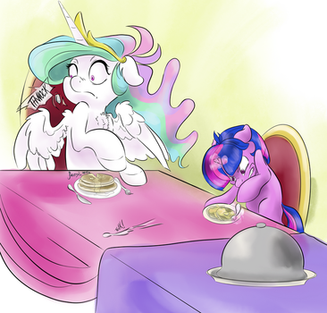 Death by Salad Fork by Firimil