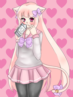 Kitty by creampuffchan
