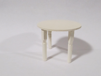 Dollhouse Cafe Table by Captain-Random