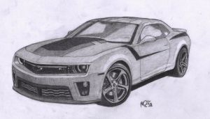Chevrolet Camaro ZL1 2013 by eagleeyeking