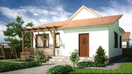 Country house by Flavius-C
