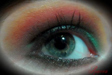 Spring Party Eye: 5 minute project by GothicRavenMidnight