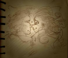 Nose Kiss by HARuNIS