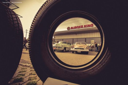 Car Show @ Burger King by AmericanMuscle
