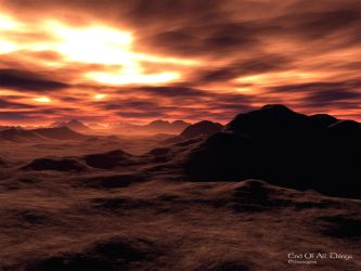 End Of All Things - Terragen by furryphotos