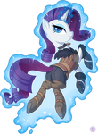 Rarity as Yennefer by StasySolitude