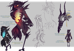 Halloween 2017 sketchpage nevermore by Thalliumfire