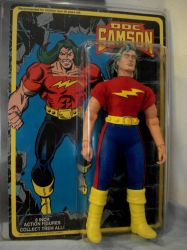 Doc Samson with card by randomaxedesign