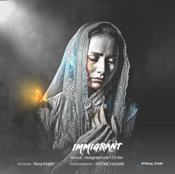hazara - IMMIGRANT by rezagraph133