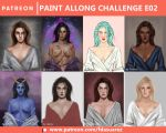 Paint Along Challenge E02 | Patreon by fdasuarez
