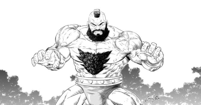 Zangief  2018 by viniciusmt2007