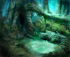 Forest by Magweno