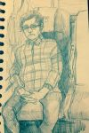 Travel sketch #4 by pokuliusz