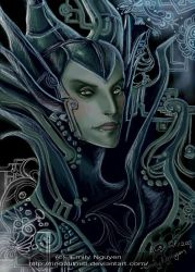 MALEFICENT by emilynguyenart