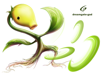 BELLSPROUT THROWS  By Gad by Dreamgate-Gad
