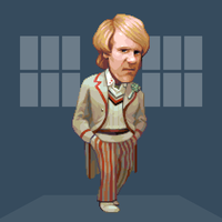 Doctober - 5th Doctor by JINNdev