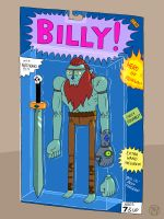 BILLY! Action Figure by Kairu-Hakubi