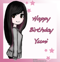 Happy Birthday Yumi by AnOnA-Q8