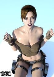 Lara Croft 33 by Vik3DX