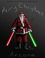 Darth Santa, Fallen Jedi by borkweb