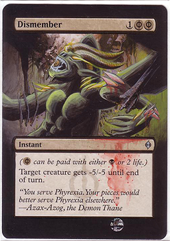 dismember (the tomby xD) - altered mtg by eddy-pochy