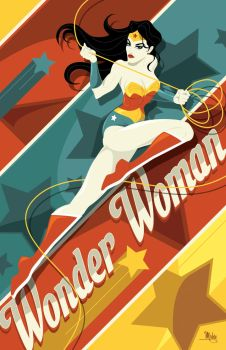 Wonder Woman by MikeMahle