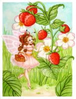 Strawberries' fairy by Chpi
